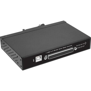 SIIG CyberX Industrial Rugged 8-port RS-232 USB to Serial Converter -