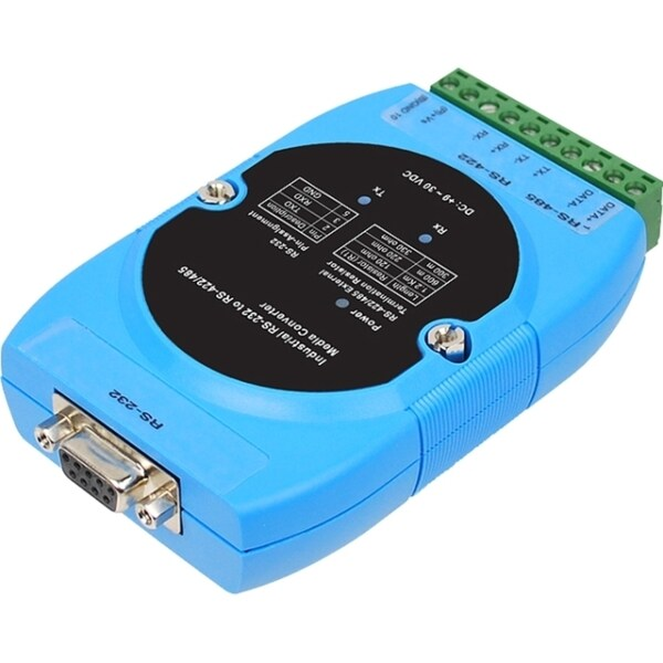 SIIG CyberX Industrial RS232 to RS-422/485 Serial Converter - Wide Te