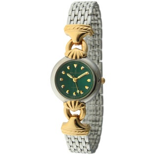 Peugeot Women's '710-8' Green Dial Mesh Bracelet Watch