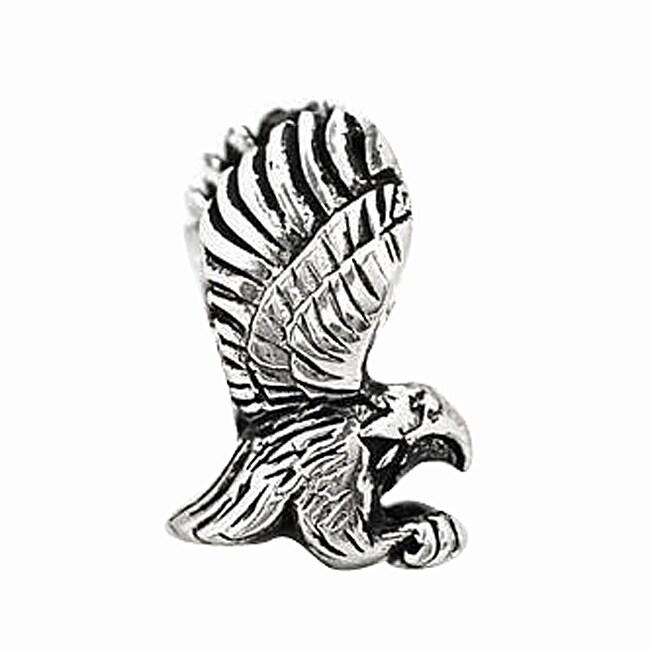 De Buman Sterling Silver Eagle Charm Bead at Sears.com