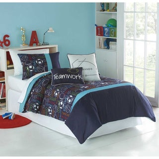 Big Believers Athletic Department 3-piece Comforter Set