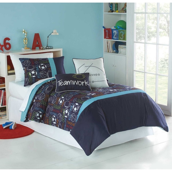 VCNY Big Believers Athletic Department 3-piece Comforter Set