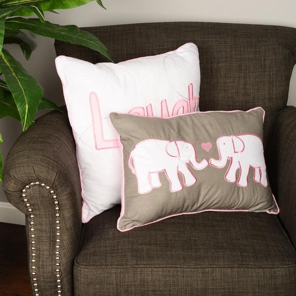 Big Believers Pink Parade Decorative Pillows (Set of 2)