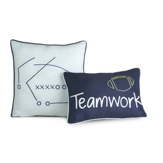 Big Believers Athletic Department Decorative Throw Pillows (Set of 2)