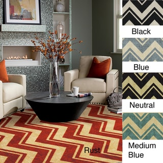 Classic Chevron Area Rug (8' x 10')