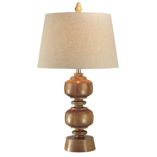 Natural Oak Wood Lamp
