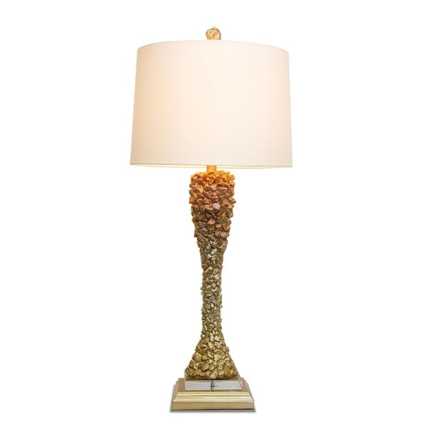 Gold Nugget Lamp