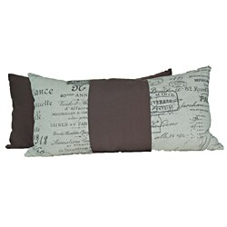Document Fossil Rectangular Throw Pillows (Set of 2)