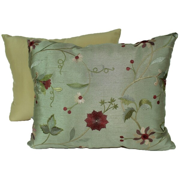 Paradise Garden Sage Pillows (Set of 2)