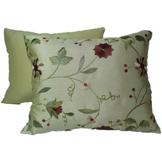 Paradise Garden Gold Pillows (Set of 2)