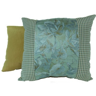 Windsong Seafoam Pieced Pillows (Set of 2)