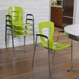 Christopher Knight Home Kennedy Green Modern Chair (Set of 4)