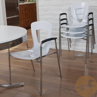 Christopher Knight Home Kennedy White Modern Chair (Set of 4)