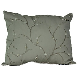 Country Willow Linen Pillow