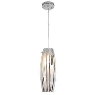 Alternating Current Chroman Empire One-Light 100-Watt Chrome Pendant