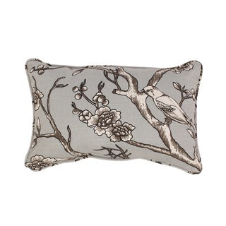 Vintage Blossom Rectangular Corded Throw Pillow