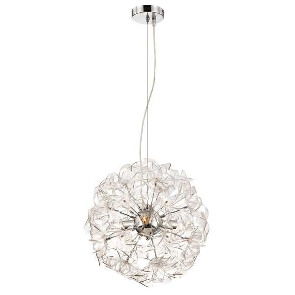 Alternating Current Clearvoyant 3-light Chrome Pendant