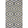 nuLOOM Handmade Retro Natural Wool Rug (7'6 x 9'6)