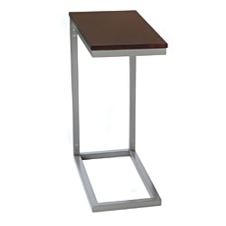 Bianco Collection Espresso Modern Side Table