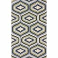 nuLOOM Handmade Retro Natural Wool Rug (5' x 8')