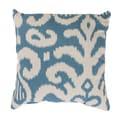 Fergano 16.5-inch Throw Pillow in Aqua
