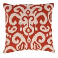 Fergano 23-inch Floor Pillow in Flame