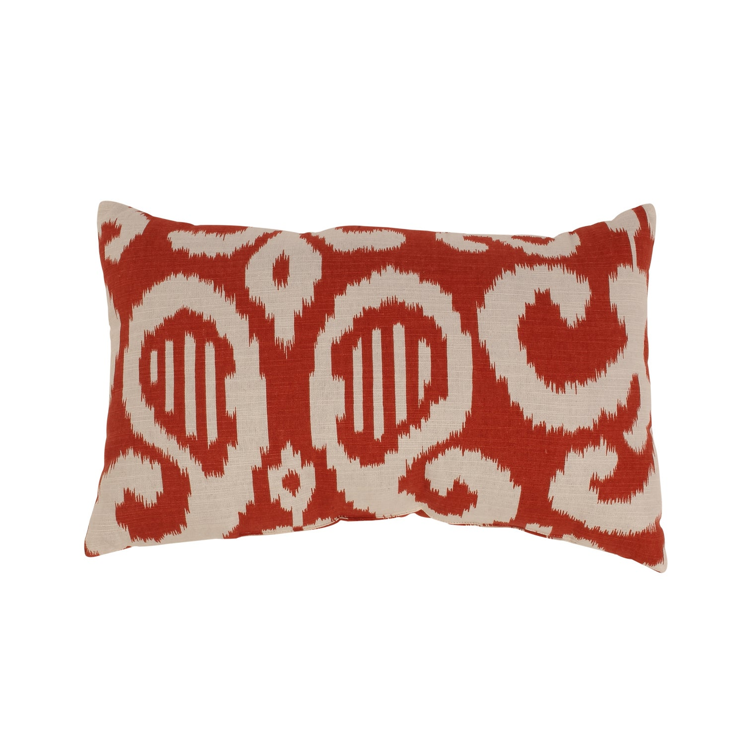 Fergano Rectangular Throw Pillow in Flame