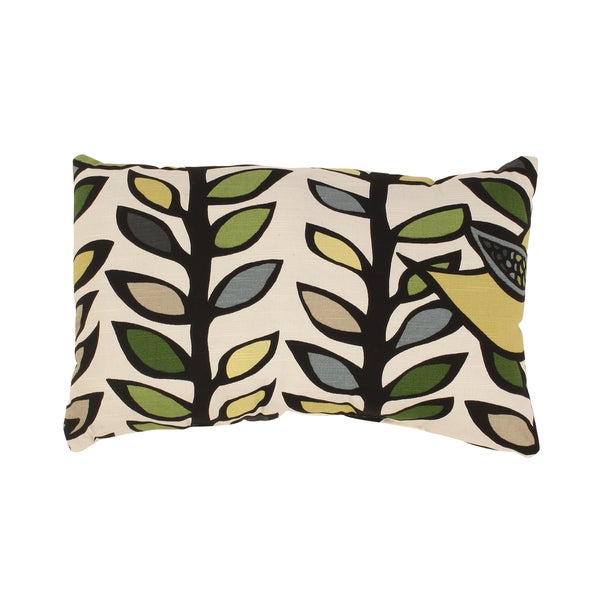 Trixie Rectangular Throw Pillow in Hemlock