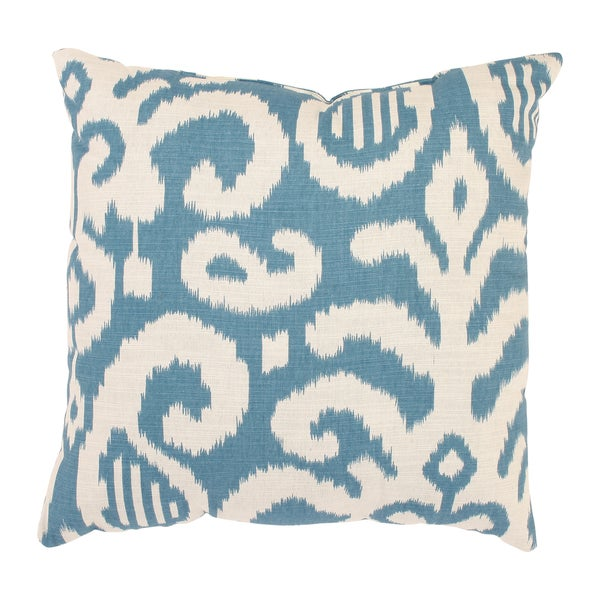 Fergano 18-inch Throw Pillow in Aqua