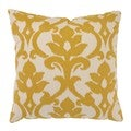Azzure 23-inch Floor Pillow in Marigold