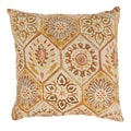 Summer Breeze 23-inch Floor Pillow in Gold