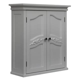 Yvette White 2-door  Wall Cabinet