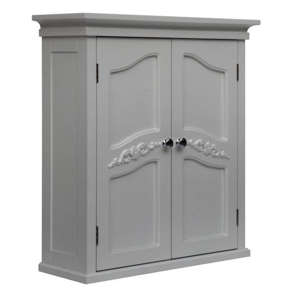 yvette white 2 door wall cabinet overstock shopping great deals on