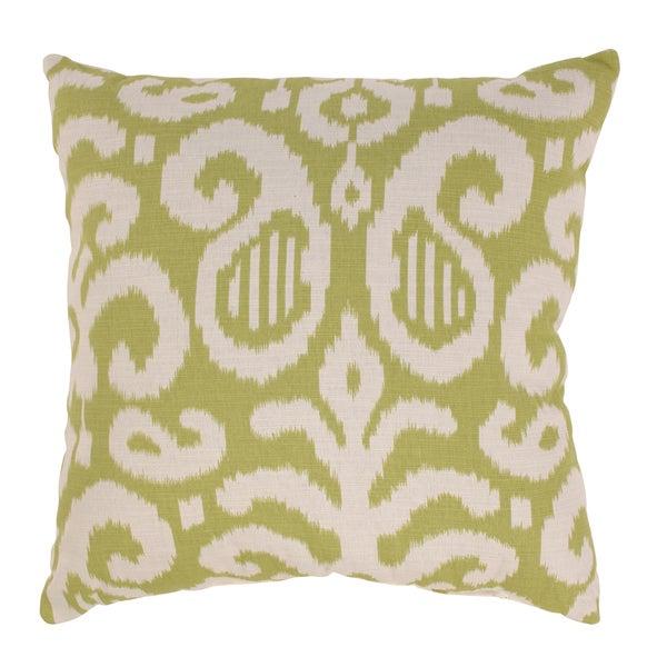 'Fergano' 23-inch Lime Throw Pillow
