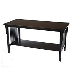 Bianco Collection Mission Black Coffee Table
