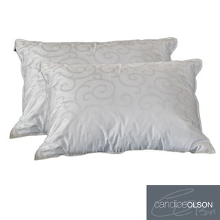 Candice Olson Down Alternative Pillow with Removeable Cover (Set of 2)