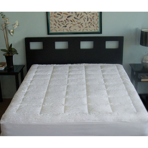 Candice Olson Luxury 300 Thread Count Cotton Mattress Pad