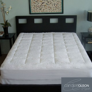 Candice Olson Luxury 300-thread Count Cotton Mattress Pad