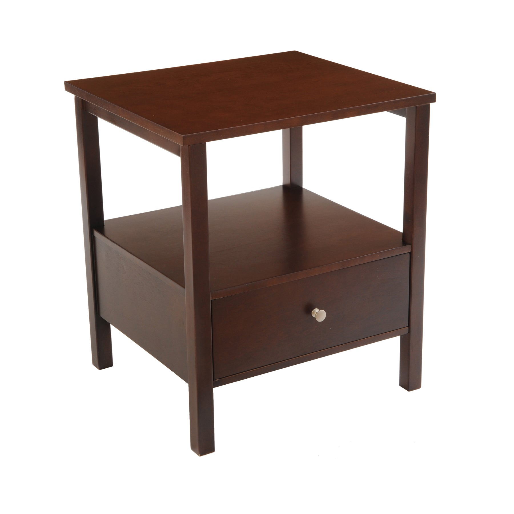 Bianco Collection Espresso End Table