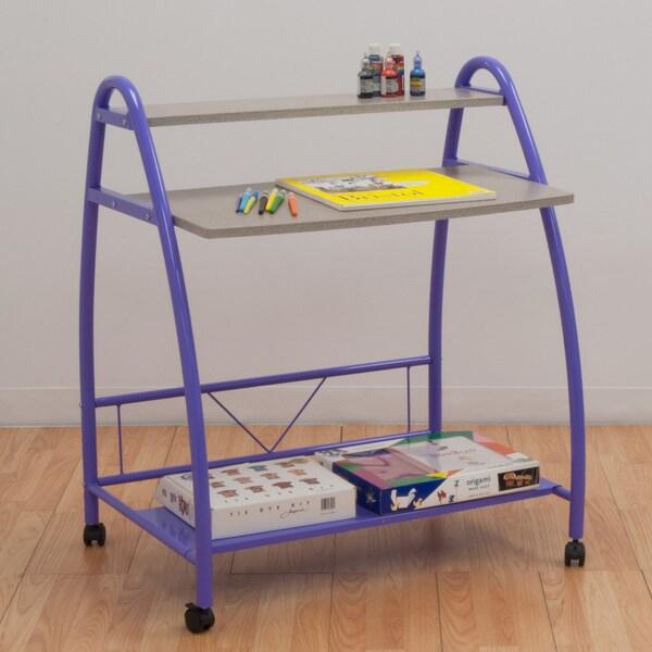 Studio Designs Purple Arc Desk
