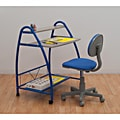 Studio Designs Blue 2-Piece Arc Center Desk Set
