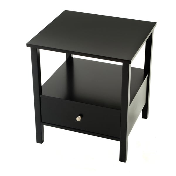 Bianco Collection Black End Table