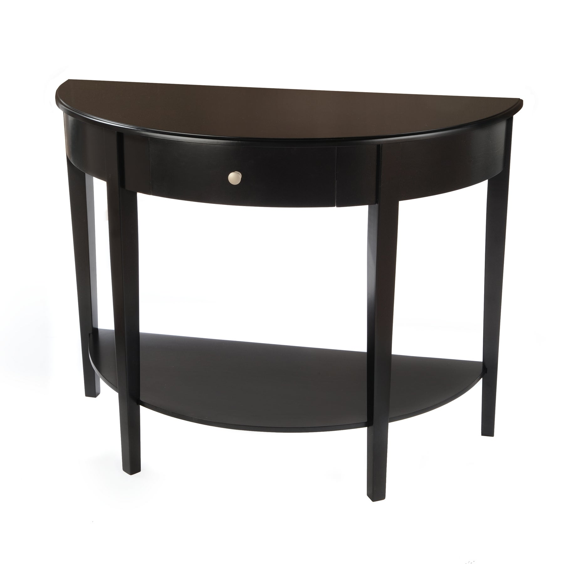 Semi Circle Black Coffee Sofa amp End Tables Overstockcom Buy