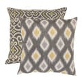 Pillow Perfect 'Damask' and 'Rodrigo' Floor Pillows (Set of 2)