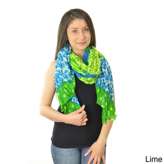 Women's Dot Mixed Media Scarf