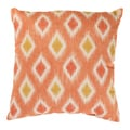 Pillow Perfect Rodrigo 18-inch Coral Throw Pillow