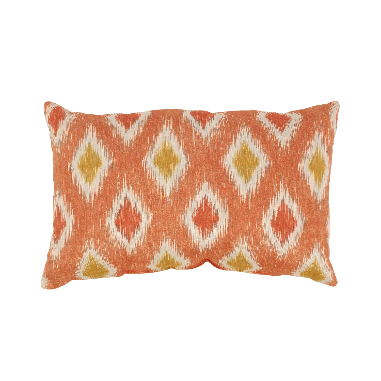 Pillow Perfect Rodrigo Rectangular Coral Throw Pillow
