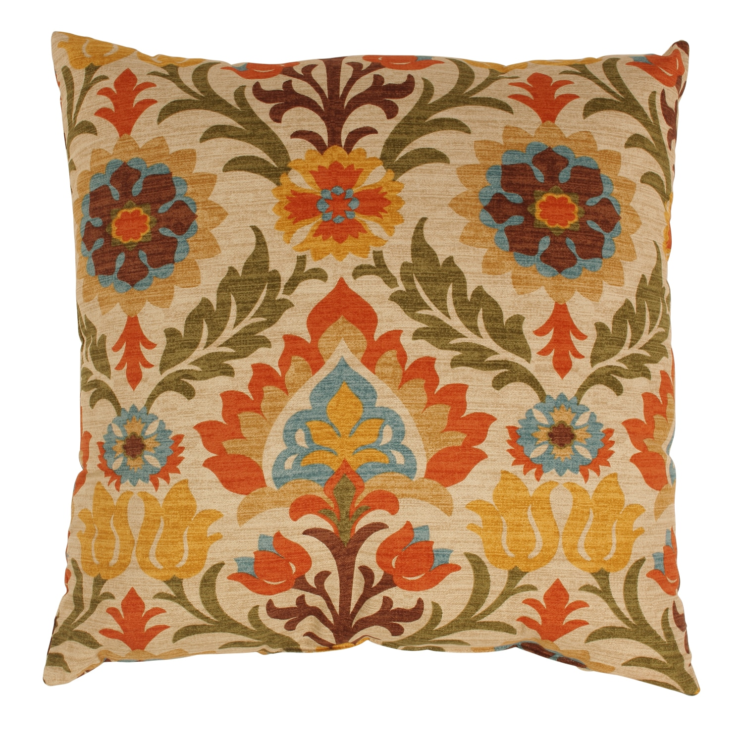 Santa Maria 23-inch Adobe Floor Pillow