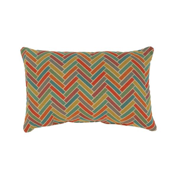 Vespa Rectangular Cabana Throw Pillow