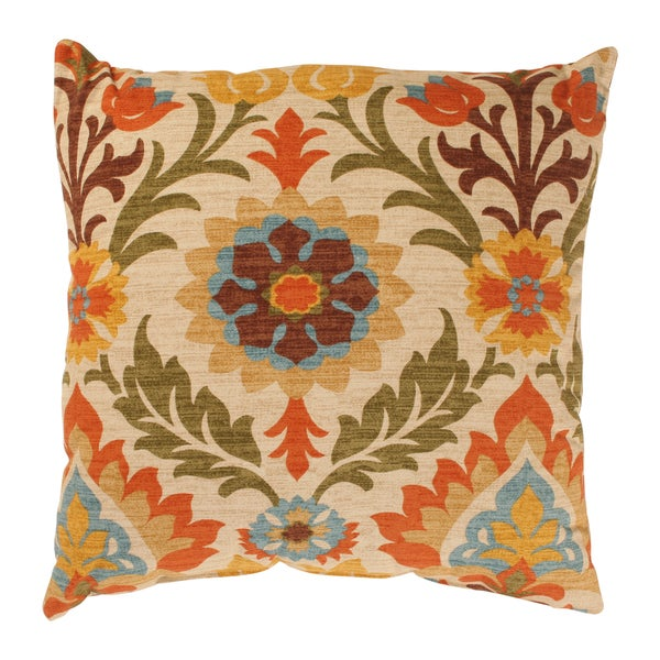 Pillow Perfect Santa Maria 18-inch Adobe Throw Pillow